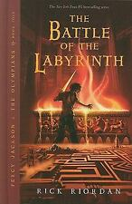 Percy Jackson and the Olympians: The Battle of the Labyrinth Bk. 4 by Rick...
