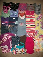 LOT OF 24 GIRLS SIZE 4 5 NAMEBRAND SPRING SUMMER GYMBOREE GAP OLD NAVY GUC!!