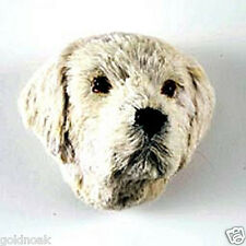 (2)LAB RETRIEVER  DOG MAGNETS! Very realistic collectible fur refrig. Magnets.