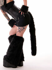 PAWSTAR Black Cosplay FURRY kitty CAT TAILCostume Animal Costume Sexy [BK] 3500
