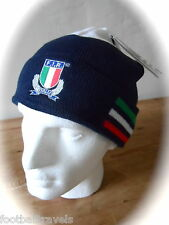 YOUTH ADIDAS ITALY RUGBY 2016 WOOLIE BEANIE HAT Tags OSFY NAVY Toque ITALIA