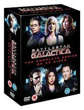 BATTLESTAR GALACTICA complete season series 1 2 3 4 + Razor DVD Box Set R4