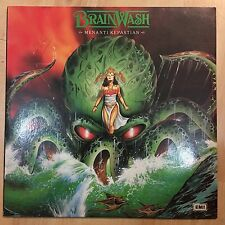 ULTRA RARE BRAINWASH MALAY PENANG HEAVY METAL GLAM ROCK BAND LP 33RPM MALAYSIA