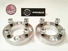 "[SR] 2pc 25mm (1"") Thick 4x4 to 4x4 Wheel Spacers EZ Go Golf Carts Club Cars"