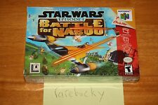 Star Wars Episode I Battle for Naboo (N64 Nintendo 64) NEW SEALED NEAR-MINT RARE