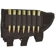 NEW Tactical Butt Stock SNIPER Rifle Ammo Cheek Rest  Pouch - SWAT BLACK