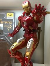 HOT TOYS 1/6 TWO-Sided Dynamic Figure Stand FOR IRON MAN TONY STARK MARK XLII