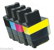 4 x LC900 Brother Cartucce Inkjet Compatible For Printer DCP - 117C, DCP - 120C