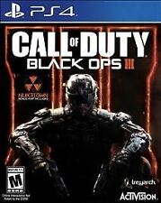 Call of Duty Black Ops III 3  Sony PlayStation 4 PS PS4 COD BO3 BOIII