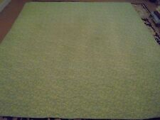 Nice Light Green & Blue Flower Pattern Quilt
