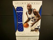 Insert Shaquille O'Neal Paniini 2014 Card #29 TIMELINES Game-Used Jersey Orlando