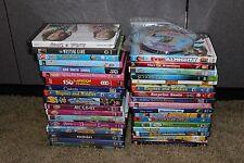 Huge lot of 35 DVD Movies plus bonus DVDs Disney Monster inc thomas Barbie pooh