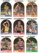 1989-1990 Skybox Hoops Complete 353-card Set David Robinson SP RC Kevin Johnson
