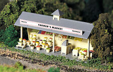 New In Box   O/S  SCALE  PLASTICVILLE  ROADSIDE  STAND Kit By Bachmann