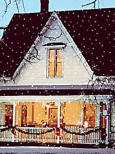The Light Flurries Snow Show Christmas House Lighting Outdoor Decoration NO BOX!