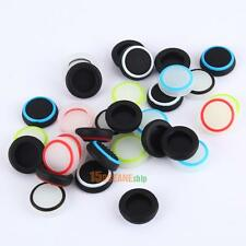 32pcs/lot Silicone Colorful Cap Thumb Stick Joystick Grip For Sony PS4 PS3