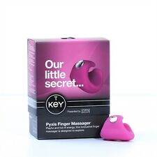 PYXIS BY JOPEN - RASPBERRY PINK FINGER MASSAGER USB RECHARGABLE