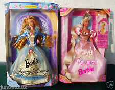 Barbie Doll Rapunzel and Sleeping Beauty NRFB Fairy Tales