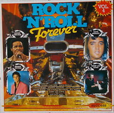 LP VARIOUS - ROCK ´N ´ROLL FOREVER - VOL.4 ,NEAR MINT,Succes 208210,Holland 1986