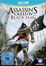 Nintendo wii u des assassins Creed IV Black Flag excellent état