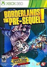 Borderlands: The Pre-Sequel (Microsoft Xbox 360, 2014) - Brand New Sealed!