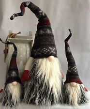 Handmade Swedish Tomte Christmas Gnome Scandinavian Santa Elf Troll decoration