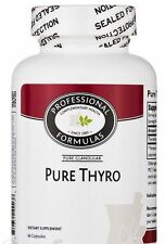BEST PURE THYRO PURE NEW ZEALAND GLANDULAR SUPPLMENTS 2.3 GRAINS THYROID TISSUE