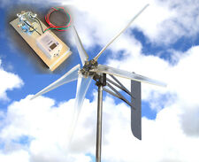 "KT Ghost 74"" 5 Blade 3.75kw Wind turbine 1000W  12 VDC 2-wire FREE G4 Controller"