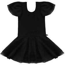 Girl Gymnastics Dance Party Tutu Dress Kid Ballet Leotard Outfit Skirt Age 2-14Y