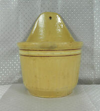 """RARE - RED WING """"SAFFRON WARE"""" BOTTOM MARKED """"HANGING SALT BOX"""" (NO COVER)"""