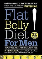 Flat Belly Diet for Men: Real Food, Real Men, Real Flat Abs by Liz...