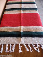 Diamond Serape ONWDia-Red New West Southwest Southwestern Mexican Blanket