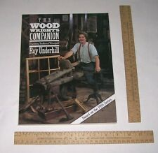 The WOOD WRIGHT'S COMPANION - Exploring Traditional Woodcraft - illustrated pb
