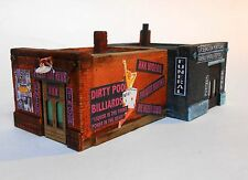 "Downtown Deco New in N Scale ""Easy Come, Easy go"" XXX Club + Funeral Home."