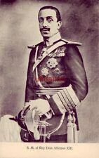 SPAIN. S. M. EL REY DON ALFONSO XIII DE ESPANA
