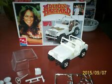 AMT /Ertl Dukes Of Hazzard Daisy's C J  Jeep Patial Build