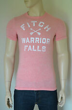 NEW Abercrombie & Fitch Flagstaff Mountain Red Vintage Indian Tee T-Shirt M