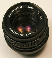 PENTACON AUTO 50mm f1.8 MULTI COATING M42 (Pentax) Screw Mount  Lens