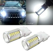 HID White 33-SMD LED For Jeep Grand Cherokee 2011 &up DRL Daytime Running Lights
