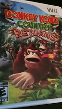 Donkey Kong Country Returns (Nintendo Wii, 2010) FAST SHIPPING