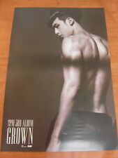 2PM  - [NICHKHUN] Grown (Version B) [OFFICIAL] POSTER *NEW* K-POP