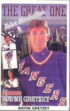 Wayne Gretzky NEW YORK RANGERS Starline MINI Promo 3x5