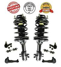 Front Struts Lower Ball Joints Sway Bar Links & Tie Rods Mazda 323 Protege 91-94