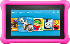 """Amazon - Fire Kids Edition - 7"""" Tablet - 16GB - Pink"""