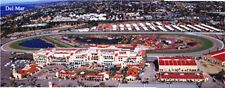 Del Mar Race Track San Diego California Aerial Panorama 11x28 inch Poster  #21
