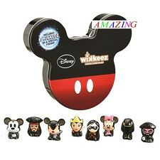 WIKKEEZ - 8 x DISNEY CHARACTERS IN COLLECTOR'S TIN - MICKEY MOUSE - JACK SPARROW