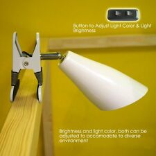 LED Bed Clip Light Bed Lamp Reading Adjustable Pointed Linghting Table Light Hot
