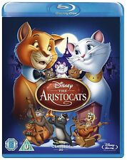 The Aristocats - UK Region B Blu Ray - Walt Disney