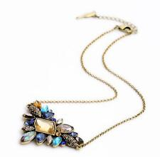 NEW Betsey Johnson Women Mosaic Crystal Gem Lovely Necklaces Pendants XL01348