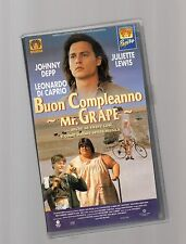 buon compleanno mr.grape - videocassetta vhs -